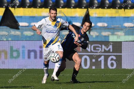 Editorial picture of Italian Football, Championship League BKT AC, Pisa vs Frosinone Calcio, Pisa, Italy - 02 Feb 2021