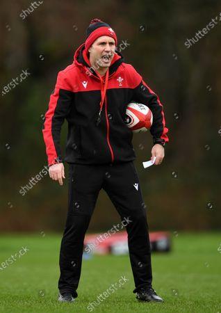 Stephen Jones during training.