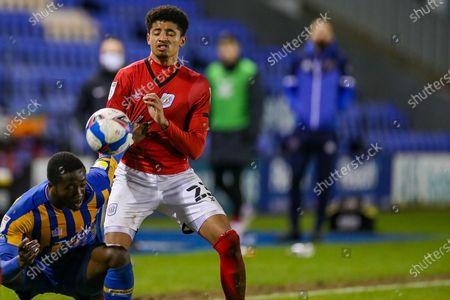 Editorial picture of Shrewsbury Town v Crewe Alexandra, EFL Sky Bet League 1 - 02 Feb 2021