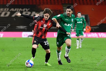 Editorial picture of Bournemouth v Sheffield Wednesday, EFL Sky Bet Championship - 02 Feb 2021