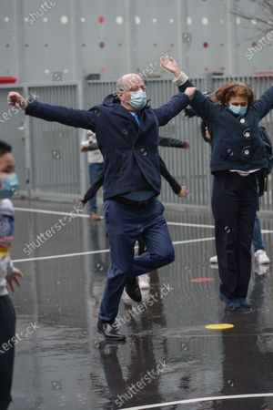 Editorial image of Blanquer physical activity promotion, Paris, France - 02 Feb 2021
