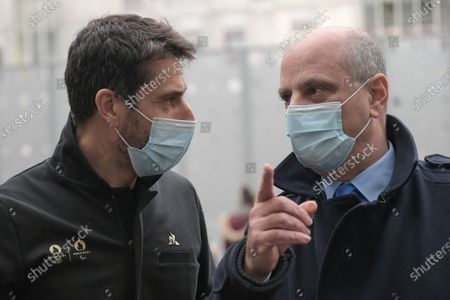 Editorial photo of Blanquer physical activity promotion, Paris, France - 02 Feb 2021
