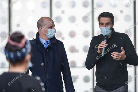 Editorial picture of Blanquer physical activity promotion, Paris, France - 02 Feb 2021