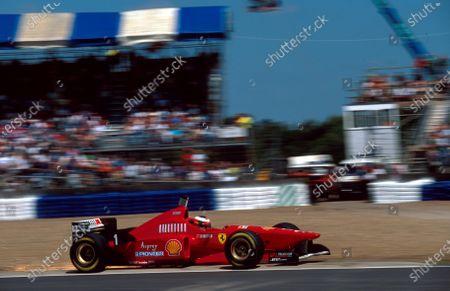 Michael Schumacher(GER) Ferrari F310British Grand Prix, Silverstone, 14th July 1996