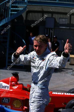 Stock Picture of Mika Hakkinen, McLaren MercedesCanadian Grand Prix, Montreal.  13/6/99World © LAT PhotographicRef:  99 CAN 01