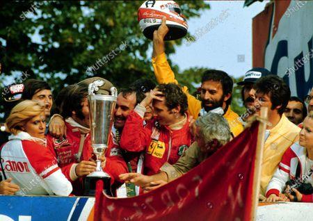 Editorial photo of F1 World Champions