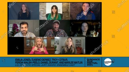 Editorial photo of Sundance Film Festival Awards, USA - 02 Feb 2021