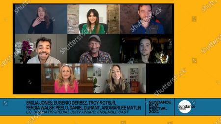 Editorial picture of Sundance Film Festival Awards, USA - 02 Feb 2021