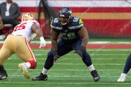Editorial photo of Seahawks 49ers Football, Glendale, United States - 03 Jan 2021