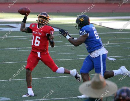Editorial picture of NCAA Football Hula Bowl JAN31, Honolulu, USA - 31 Jan 2021