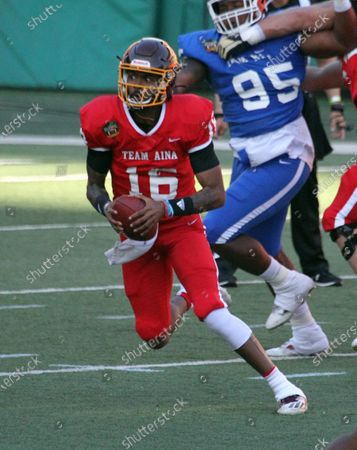 Editorial photo of NCAA Football Hula Bowl JAN31, Honolulu, USA - 31 Jan 2021