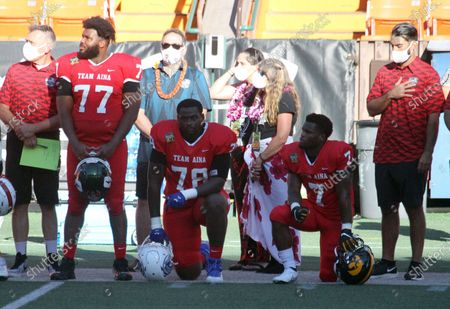 Editorial image of NCAA Football Hula Bowl JAN31, Honolulu, USA - 31 Jan 2021