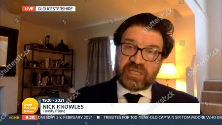 Stock Image of Nick Knowles
