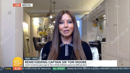 Editorial image of 'Good Morning Britain' TV Show, London, UK - 03 Feb 2021