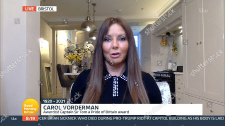 Editorial picture of 'Good Morning Britain' TV Show, London, UK - 03 Feb 2021