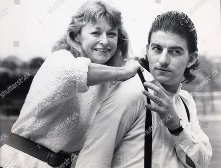 Actor John Altman With Television Presenter Sue Cook