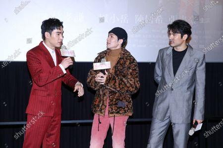Jam Hsiao, Rhydian Vaughan and Bryan Chang