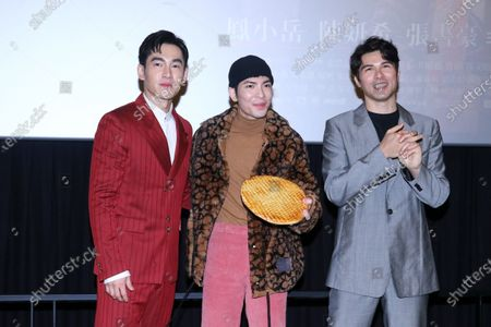Editorial image of 'A trip with your wife' press conference, Taipei, Taiwan, China - 02 Feb 2021