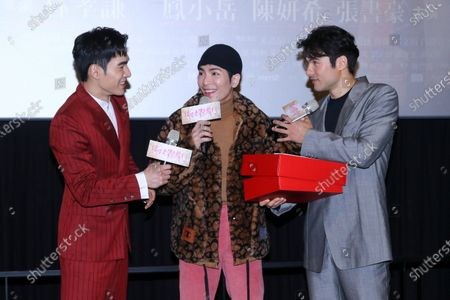 Editorial photo of 'A trip with your wife' press conference, Taipei, Taiwan, China - 02 Feb 2021
