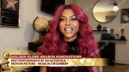 Sarah Jessica Parker and Taraji P. Henson announce the nominations for Best Performance by an Actor in a Motion Picture, Musical or Comedy