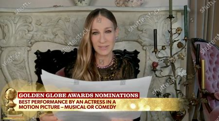 Sarah Jessica Parker and Taraji P. Henson announce the nominations for Best Performance by an Actress in a Motion Picture, Musical or Comedy