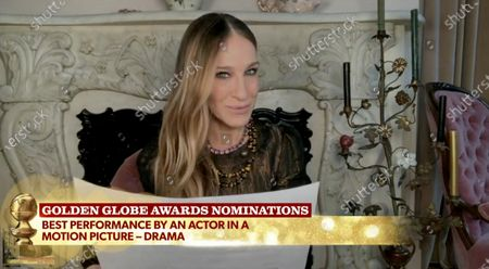 Sarah Jessica Parker and Taraji P. Henson announce the nominations for Best Performance by an Actor in a Motion Picture, Drama