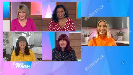 Editorial image of 'Loose Women' TV Show, London, UK - 03 Feb 2021