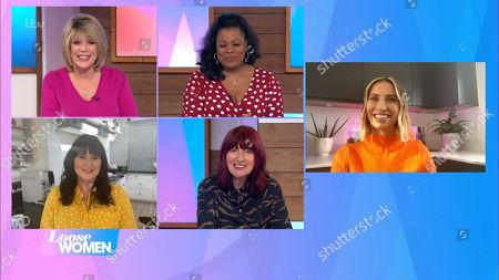 Ruth Langsford, Brenda Edwards, Janet Street-Porter and Ferne McCann