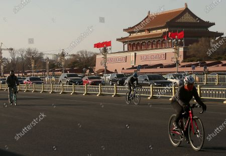 Editorial image of Tiananmen Square, Beijing, China - 03 Feb 2021