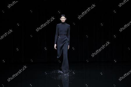 Editorial picture of Balenciaga show, Runway, Fall Winter 2020, Paris Fashion Week, Seine-Saint-Denis, France - 01 Mar 2020