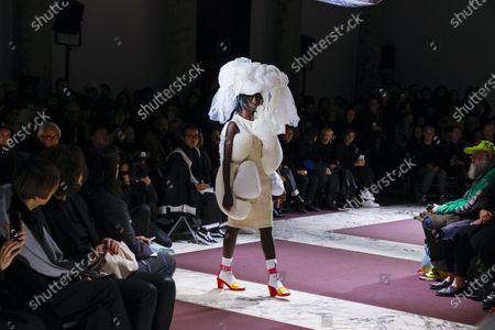Editorial picture of Comme des Garçons show, Runway, Fall Winter 2020, Paris Fashion Week, Pavillon Cambon, France - 29 Feb 2020