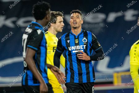 Club's Nabil Dirar pictured during a soccer game between Club Brugge (1A first division) and Olsa Brakel (2nd amateur division), Wednesday 03 February 2021 in Brugge, in the 1/16 finals of the 'Croky Cup' Belgian cup.