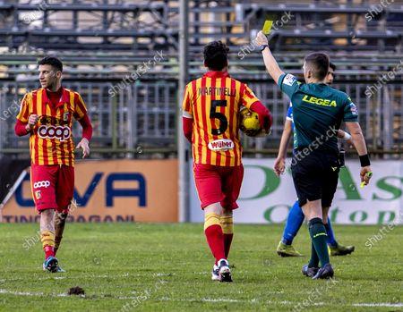 Editorial picture of Serie C Paganese vs Catanzaro 1- 0, Pagani, Campania / Salerno, Italy - 03 Feb 2021