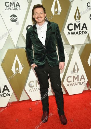 Morgan Wallen arrives at the 53rd annual CMA Awards on Nov. 13, 2019, in Nashville, Tenn. Wallen has apologized after a video surfaced showed him shouting a racial slur. The video, which was first published by TMZ, showed him outside a home in Nashville, Tenn. yelling profanities