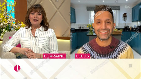 Lorraine Kelly and Dr Amir Khan