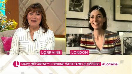 Lorraine Kelly and Mary McCartney