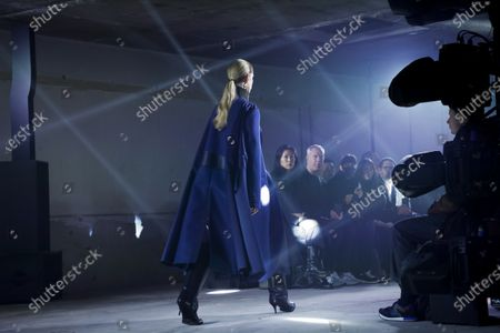 Editorial photo of Sacai show, Runway, Fall Winter 2020, Paris Fashion Week, 49 Boulevard de Vaugirard, France - 02 Mar 2020