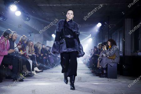 Editorial picture of Sacai show, Runway, Fall Winter 2020, Paris Fashion Week, 49 Boulevard de Vaugirard, France - 02 Mar 2020