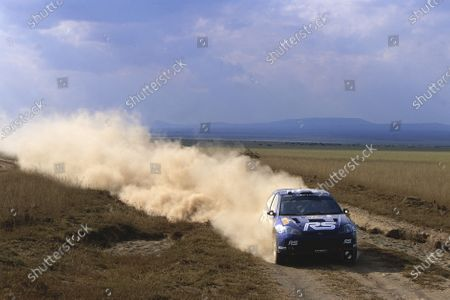 2002 World Rally ChampionshipSafari Rally, Kenya. 11th - 14th July 2002.Marko Martin/Michael Park (Ford Focus RS WRC02), action.World Copyright: McKlein/LAT Photographicref: 35mm Image A10