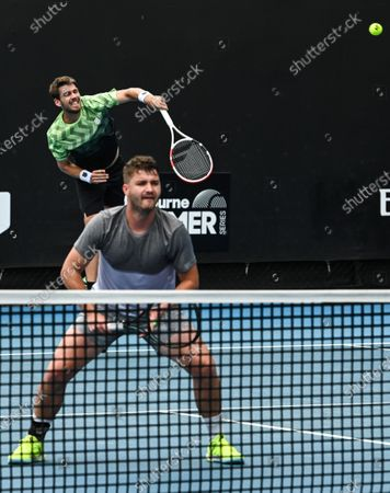 Cameron Norrie in action with Jonny O'Mara