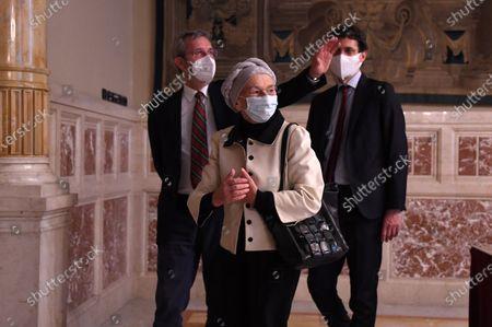 Benedetto Della Vedova, Emma Bonino, Riccardo Magi parlamentary group of +Europa, Radicali Italiani at the Chamber of Deputies for consultations with the designated Prime Minister