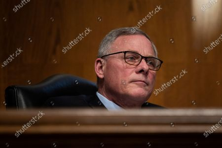 Sen. Richard Burr, R-N.C., listens during a Senate Health, Education, Labor and Pensions Committee hearing on the nomination Boston Mayor Marty Walsh to be labor secretary on Capitol Hill