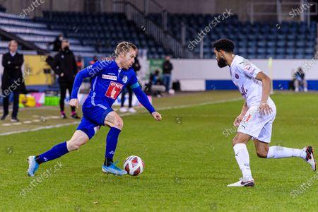 Editorial photo of FC Luzern v Servette FC, Soccer Super League, Swissporarena, Luzern, Switzerland - 04 Feb 2021