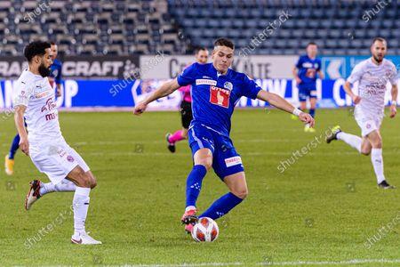 Editorial image of FC Luzern v Servette FC, Soccer Super League, Swissporarena, Luzern, Switzerland - 04 Feb 2021