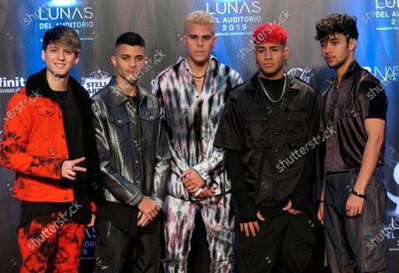 Editorial picture of CNCO, Mexico City, Mexico - 31 Oct 2019