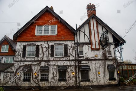 Editorial picture of Seasonal weather, Flooding, Sonning, Berkshire, UK - 04 Feb 2021