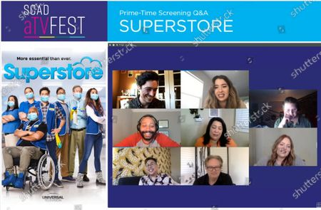 Editorial photo of SCAD aTVFest - 'Superstore' panel, USA - 04 Feb 2021
