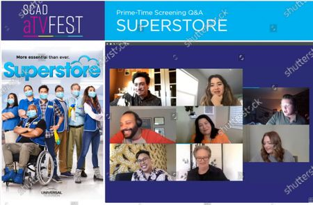 Editorial picture of SCAD aTVFest - 'Superstore' panel, USA - 04 Feb 2021