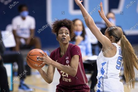 Editorial image of UNC-FSU-WBB-OTK-004, Chapel Hill, United States - 04 Feb 2021