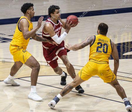 Editorial photo of NCAA Men's Basketball Stanford vs California, Berkeley, USA - 04 Feb 2021